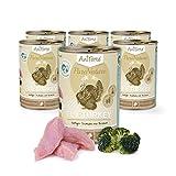 AniForte Katzenfutter Fine Turkey 6 x 400g für Katzen, Nassfutter ohne künstliche Vitamine und chemische Zusätze