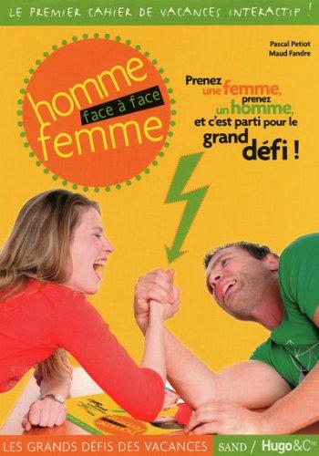 CAHIER DE VACANCES HOMMES FEMMES