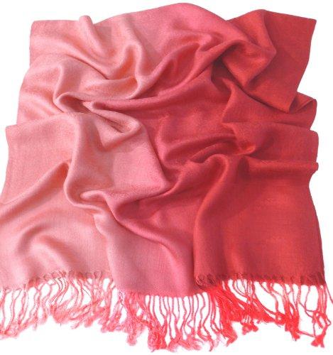 rouge-motif-a-deux-tons-chale-pashmina-echarpe-wrap-chales-pashminas-cj-apparel