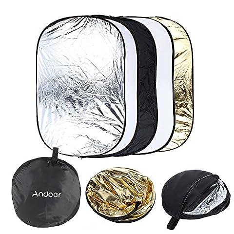 Reflecteur Pliable - Andoer 24 x 36 pouces reflecteur de