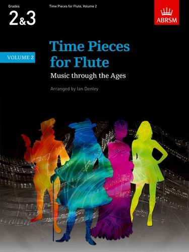 Time Pieces for Flute, Volume 2 Cover Image