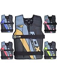 RDX Amovible Vestes Lestées Gilet Réglable Veste Entrainement Musculation Poids