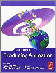 Producing Animation 2nd edition by Winder, Catherine, Dowlatabadi, Zahra (2011) Taschenbuch