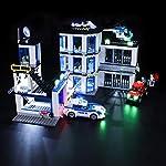 BRIKSMAX-Kit-di-Illuminazione-a-LED-per-Lego-City-Stazione-di-Polizia-Compatibile-con-Il-Modello-Lego-60141-Mattoncini-da-Costruzioni-Non-Include-Il-Set-Lego
