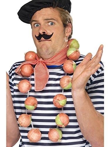 Smiffys Kostüm Zubehör Zwiebel Kette Halskette Karneval Fasching
