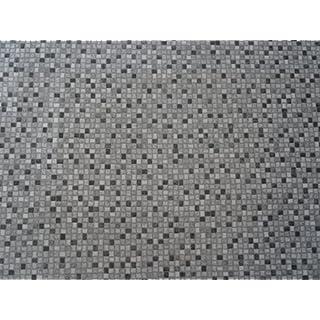 PVC in Mosaik-Optik, dunkel - von Alpha-Tex 9.95€/m² (kleines Musterstück)