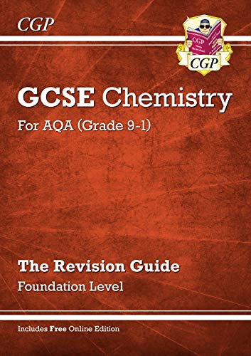 New Grade 9-1 GCSE Chemistry: AQA Revision Guide with Online Edition - Foundation