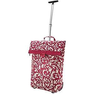 Sac cabas à roulettes trolley m avec crochets vario baroque/rubis 20 l, 43 x 53 x 21 cm, poids env. 1800 g 2179219600