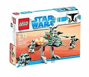 Lego 8014 - Jeu de construction - Star Wars - Clone Walker Battle Pack