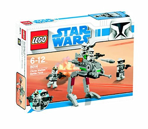 LEGO Star Wars 8014 - Clone Walker Battle Pack - Spielzeug Wars Star Clone Lego