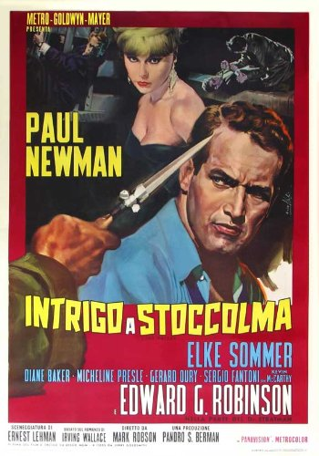 The Prize Plakat Movie Poster (27 x 40 Inches - 69cm x 102cm) (1963) Italian