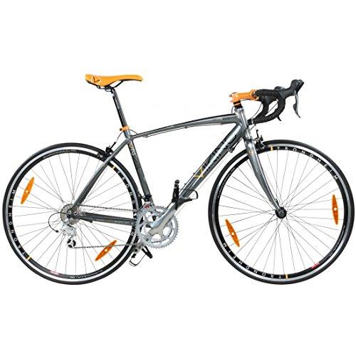 Viking Elite Rennrad, 18 Gang, 700c, 3 Rahmengrößen Shimano Sora, Rahmengrösse:53 cm