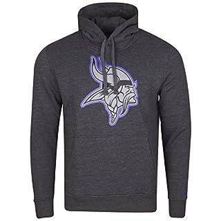 New Era Herren Hoody Minnesota Vikings Grau M