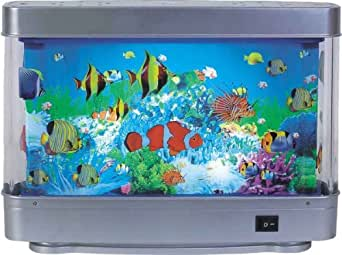 nino tischleuchte aquarium titan 1xt4 12w 53690102 amazon. Black Bedroom Furniture Sets. Home Design Ideas