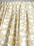 Vorhänge, 1 Fertig-Vorhang *Eccellente creme-beige