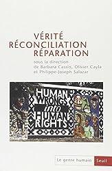Le genre humain, N° 43 : Vérité, réconciliation, réparation