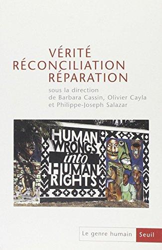 Vérité, réconciliation, réparation (43)