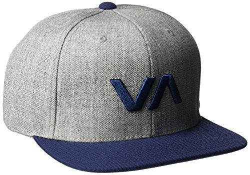 rvca-gorra-de-beisbol-hombre-multicolor-grey-heather-navy-talla-unica
