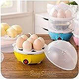 BS Deluxe New Electric Egg Boiler Egg Steamer Egg Cooker (Color May Vary)