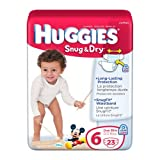 Huggies Snug And Dry Diapers - Size 6 - ...