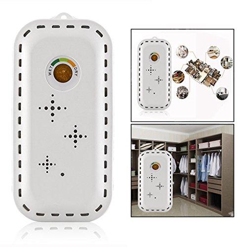 OFKPO Mini Luftentfeuchter,Aufladbar Wiederverwendbar Raumentfeuchter für Schlafzimmer/Schrank/Kleiderschrank/Auto(Weiß)