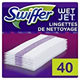 Swiffer WetJet Balai Spray Recharges Lingettes Pour Tous Types De Sols X40