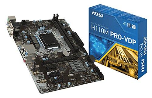 MSI LGA1151 7A48-001R Intel H110 Mainboard schwarz