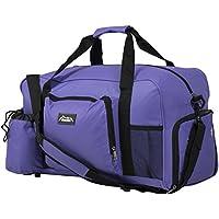 Andes 40 Litre Sports Gym Travel Bag Shoulder Holdall Luggage, Includes Shoe Pocket, Drinks Pocket and Adjustable Shoulder Strap