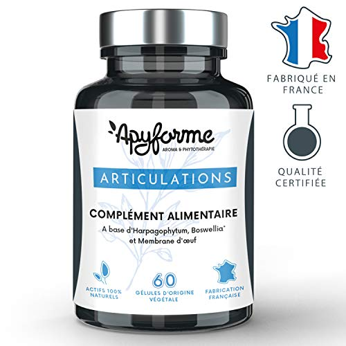 Douleurs Articulaires Action 4 en 1 : idéal contre l'arthrose et les tendinites.8 actifs 100%...