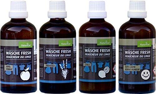Wäsche Fresh komplett Set Wäscheduft Citrus, Grüner Apfel, Gute Laune Provence Lavendel