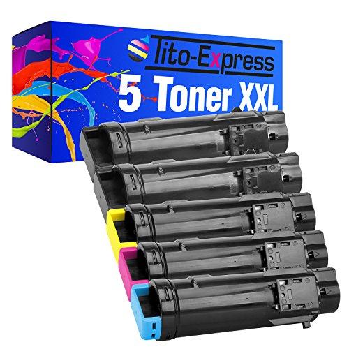 platinumserier-5x-cartucho-de-toner-compatible-con-dell-s2825-black-cyan-magenta-yellow-h-625-h-625-