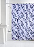#3: Yellow Weaves PVC Printed Shower Curtain 54X84 Inches- 8 Hooks