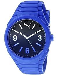 Puma Gummy Fading - Reloj análogico de cuarzo con correa de silicona  unisex ed0355c97830