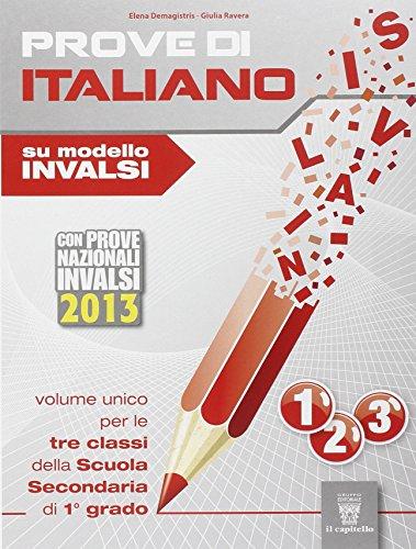 Prove di italiano. Su modello INVALSI. Con espansione online. Per la Scuole media