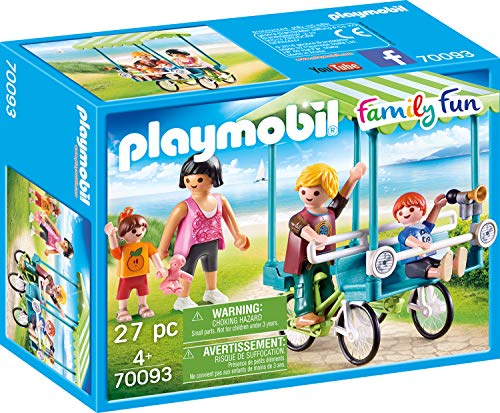 Playmobil 70093Family Fun Familias de Bicicleta