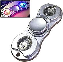 Airsson Fidget Mano Spinner EDC Fidget Spinner Toy Focus Juguetes Reductor de estrés con luces Led para niños y adultos
