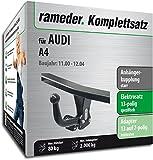 Rameder Komplettsatz, Anhängerkupplung Starr + 13pol Elektrik für Audi A4 (112720-04731-1)