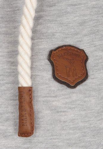 Naketano Female Zipped Jacket F... Me 2 Times! Grey Melange
