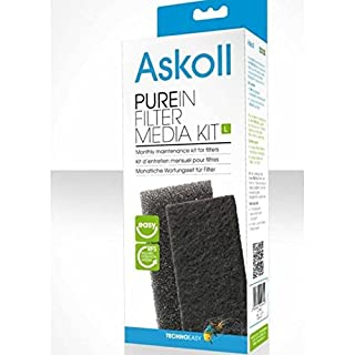 Askoll AC090003 Maintenance Kit for Pure Filters in Filter Media Kit L, L
