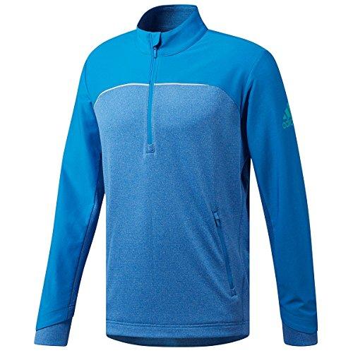 98e9bdc65043 adidas Herren Go-to 1 4 Zip mädchen Pullover Not Applicable, Blau (Azul  Cz8196), X-Large