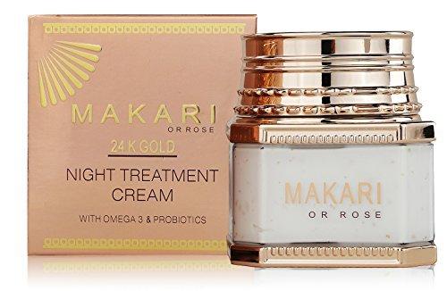 Makari 24K Gold Night crema di trattamento - con omega