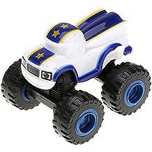 VANKER 1 Pc Plastico Juguetes de Coches Camiónes de Blaze y Las máquinas del monstruo para los bebé