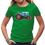 Traktoren Kinder T-Shirt - Traktor Eicher by Im-Shirt - Kelly Green Kinder 5-6 Jahre