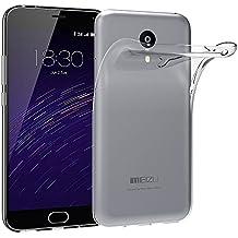 Funda Carcasa Gel Transparente para MEIZU M2 NOTE Ultra Fina 0,33mm, Silicona TPU de Alta Resistencia y Flexibilidad, Electrónica Rey®