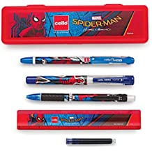 Cello Spiderman Kit Pen Set - Pack of 6 (Multicolor)