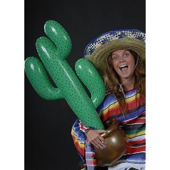 Décoration de fête Western Cactus gonflable