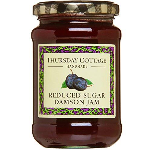 Thursday Cottage - Reduced Sugar Damson Jam - 315g