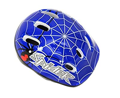 COYOTE BICYCLE CYCLE BIKE CHILDS KIDS JUNIOR BMX BOYS SPIDER HELMET 48-54cm from Coyote