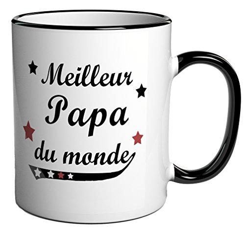 "Tazza ""meilleur papadu monde"", regalo per la festa del papà"