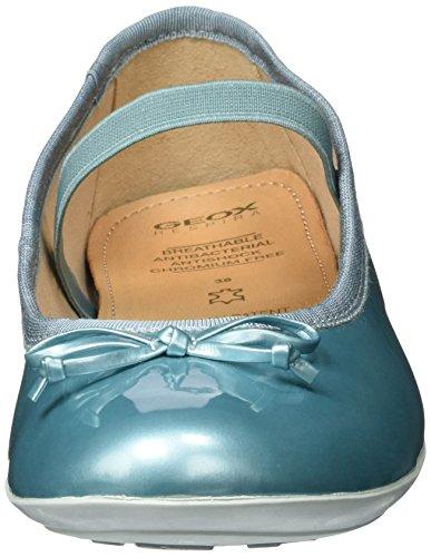 Geox Jr Plie' I, Ballerines Fille Turquoise (Waterseac3003)
